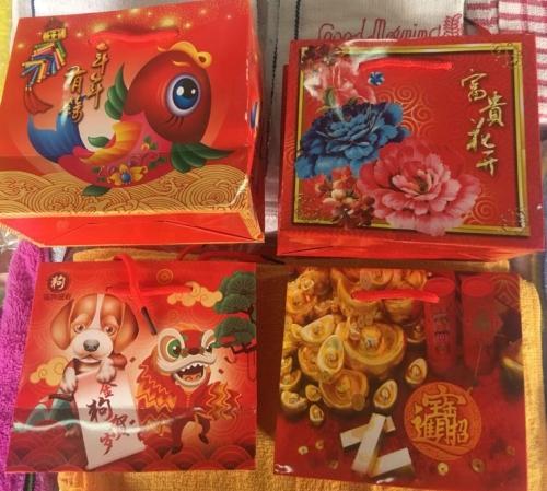 2018 CNY Paper Bag