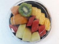 cut fruits bowl