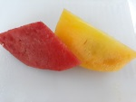 Red and Yellow Watermelon