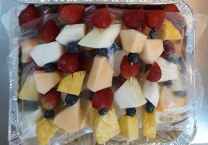 Fruit Skewers (Small Tray)