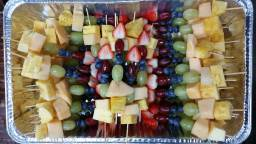 Colorful Fruits Skewers A